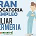 GRAN CONVOCATORIA LABORAL AUXILIARES DE ENFERMERIA  MAS DE 100 VACANTES