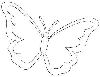 plantillas de mariposas para descargar
