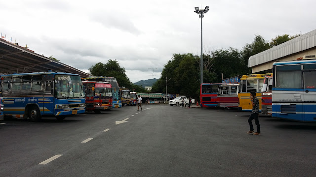 Estación de Autobuses de Kanchanaburi