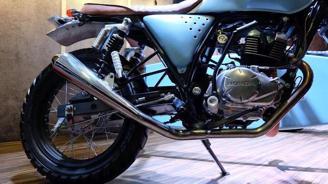 Gaya Honda CB150 Verza ala Anak Pantai