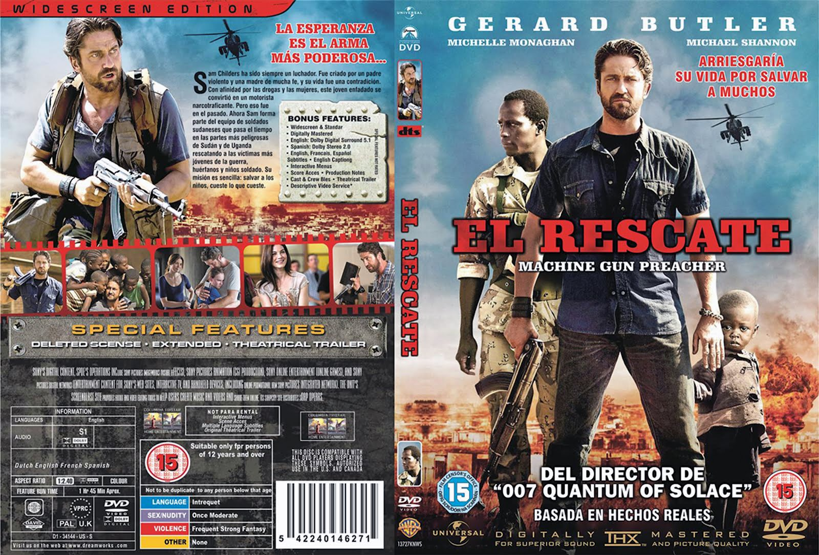 Pictures Of Machine Gun Preacher Dvd Cover Rock Cafe