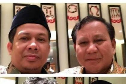 Usai Prabowo Pidato, Fahri Hamzah Minta Maaf, Ini Sebabnya...