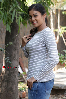 Tamil Actress Chandini Tamilarasan Latest Pos in Ripped Jeansat Ennodu Vilayadu Press Meet  0042.jpg