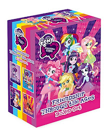 MLP Equestria Girls: Friendship Through the Ages Boxed Set Book Media
