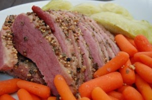 Slow Cooker Corned Beef from Food Bloggers found on SlowCookerFromScratch.com