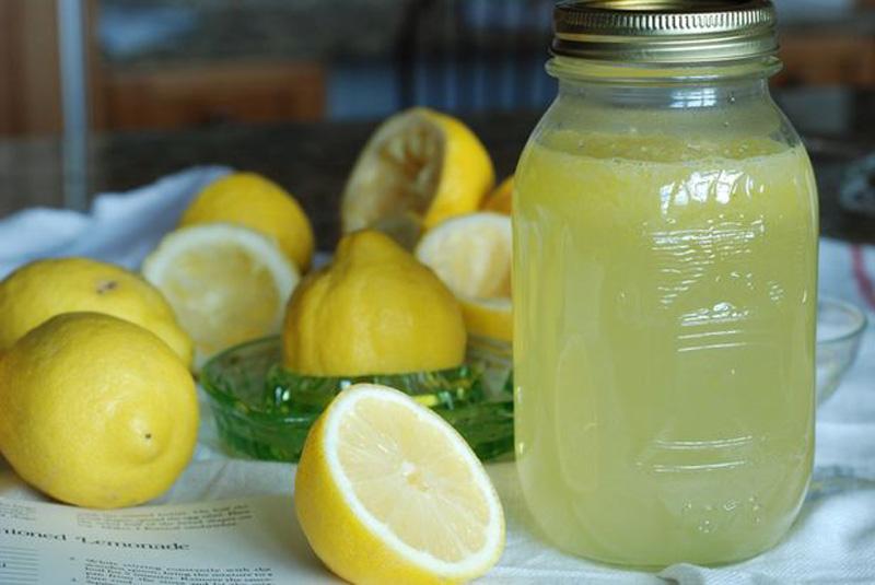 receta limonada clásica