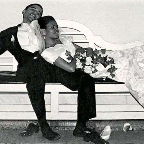 index Throwback photo of Obama's wedding in 1992