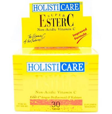 Harga Holisticare Super Ester C Suplemen Vitamin Terbaru 2017