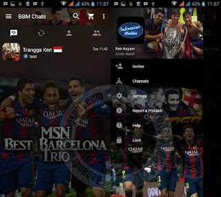 Kumpulan BBM Mod Download Thema Klub Sepak Bola Versi Terbaru 2.13.0.26 Apk