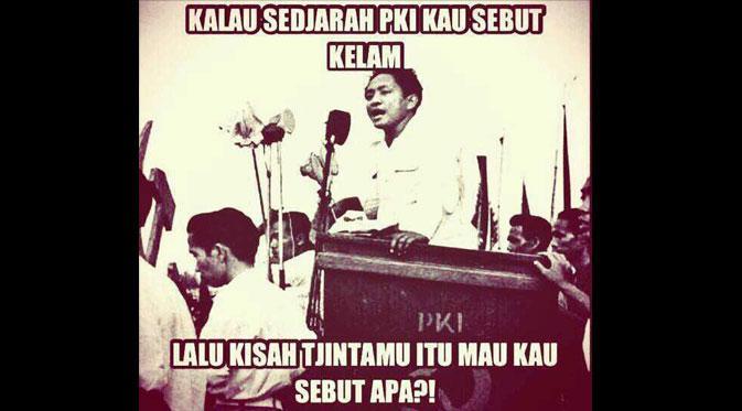 Meme PKI Palu Arit
