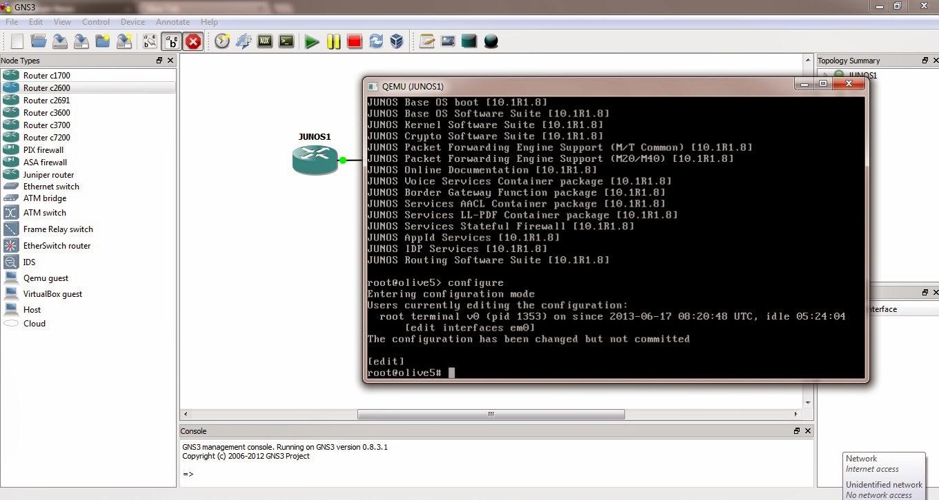 Juniper vmx gns3 download