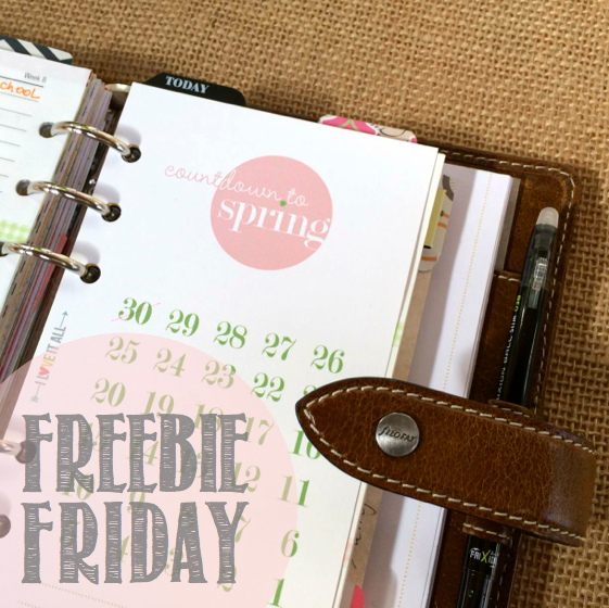 Freebie Friday Spring Countdown | iloveitallwithmonikawright.com