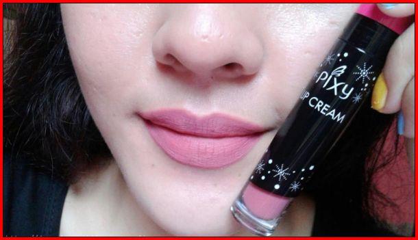 lipstik Pixy Lip Cream 08 Delicate Pink
