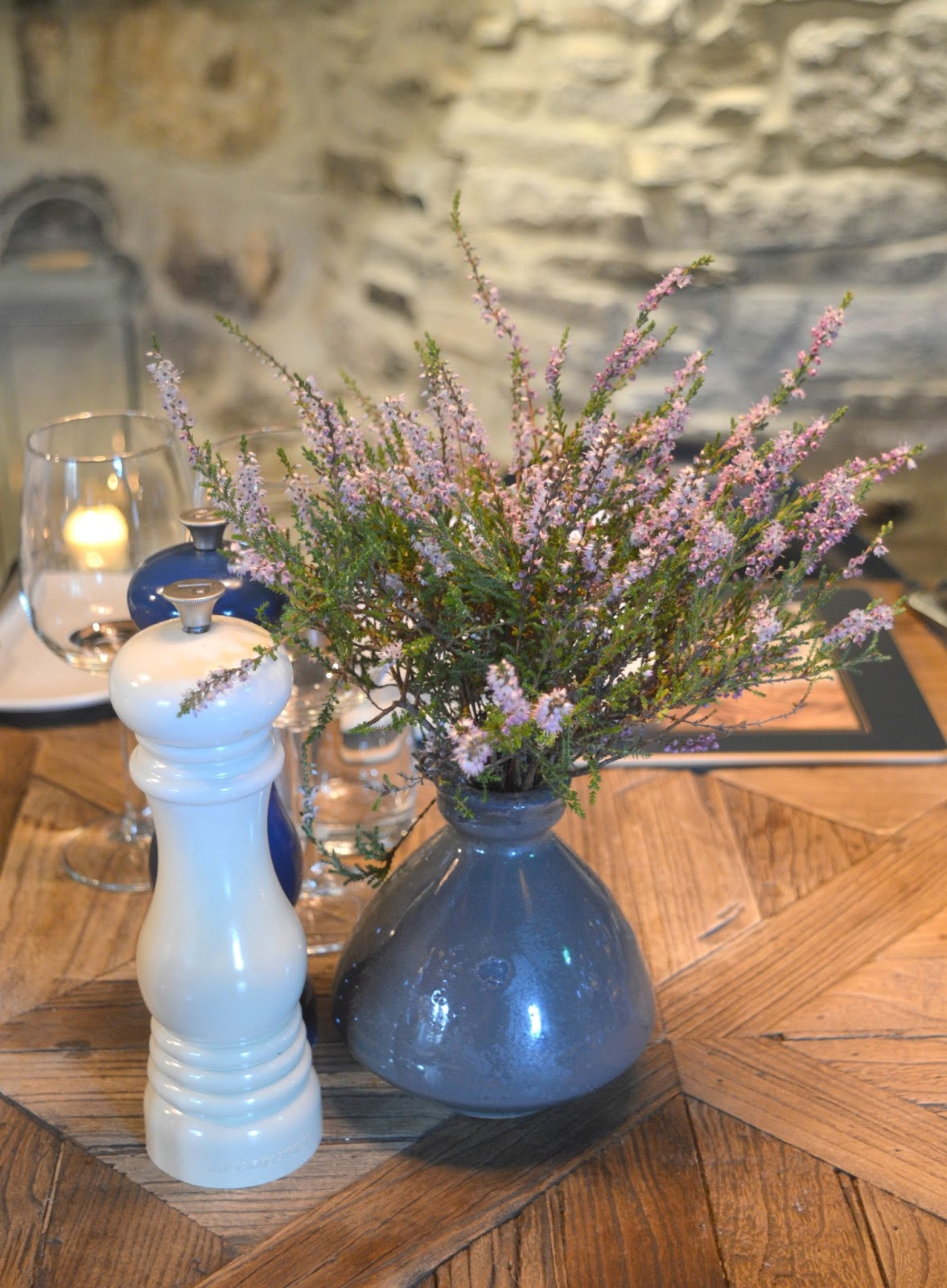 The Crewe Supper Club at the Gatehouse, Lord Crewe Arms, Blanchland - Wild Heather