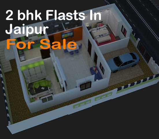 2 BHK FLATS IN JAIPUR FOR SALE