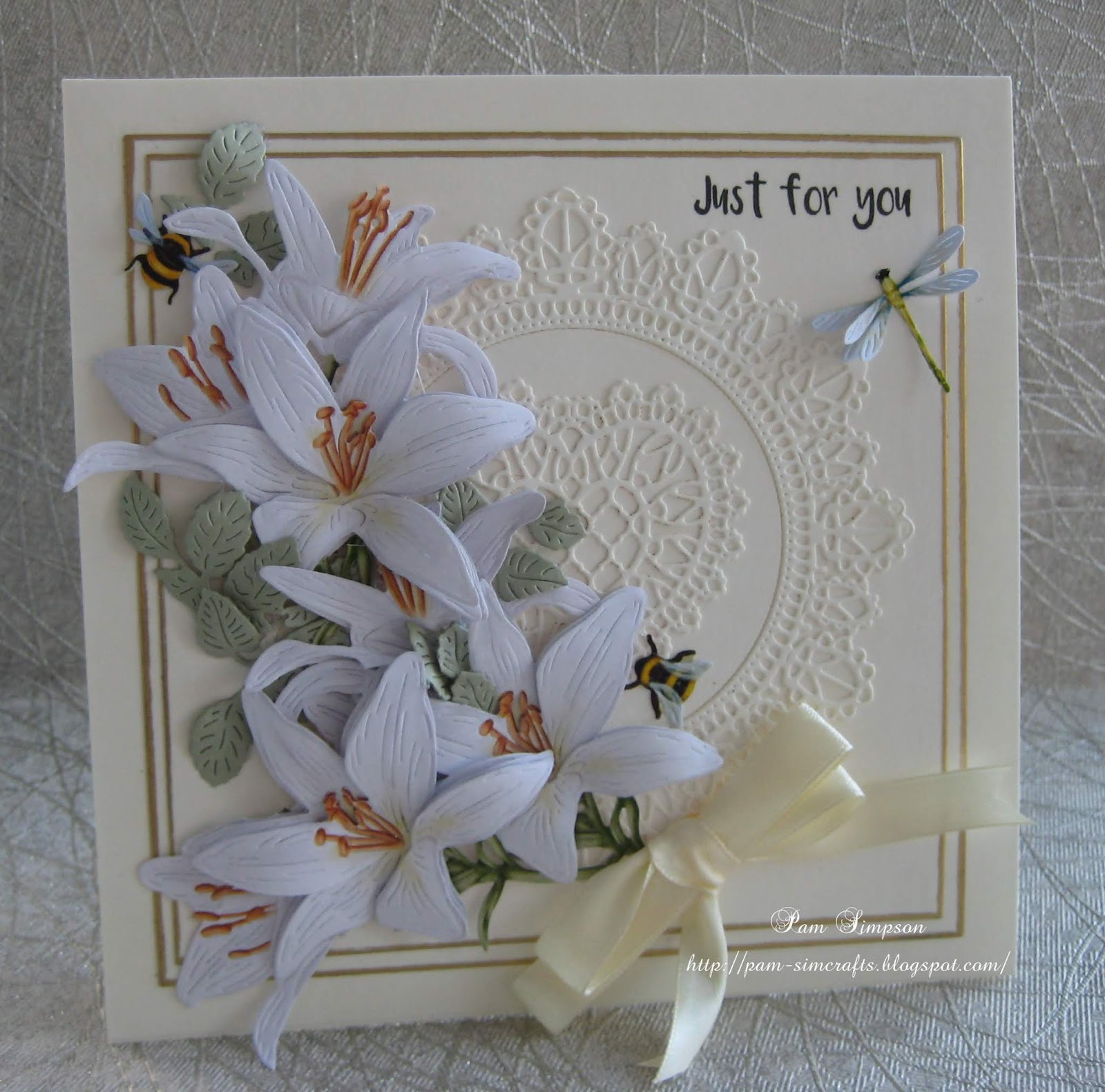 Die Cut Small Sentiments ~ Tattered Lace