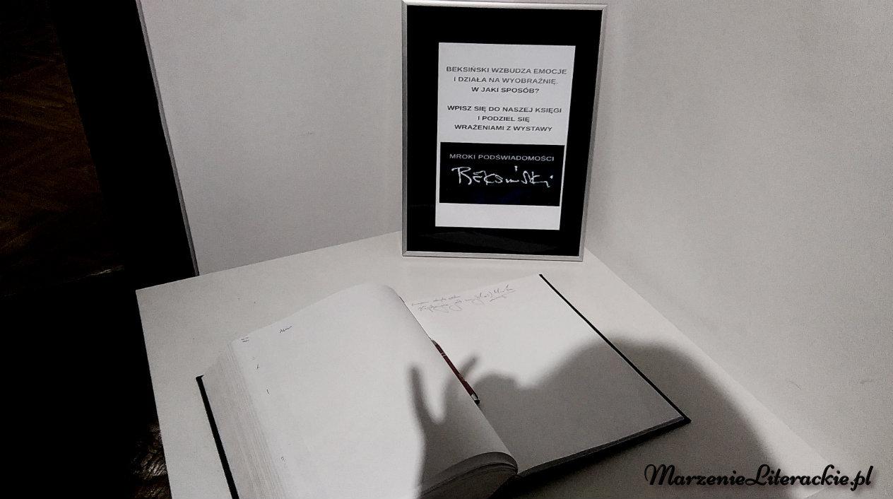 """""""Mroki podświadomości"""": wystawa prac Zdzisława Beksińskiego w Muzeum Historii w Katowicach [FOTORELACJA], Wydarzenia, Marzenie Literackie"""