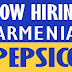 Urgent Job Opportunities in Pepsico Company - Armenia
