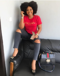 Actress Mercy Aigbe Savagely Claps Back At Troll