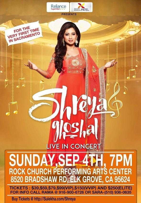 Shreya Ghoshal live concert 2016