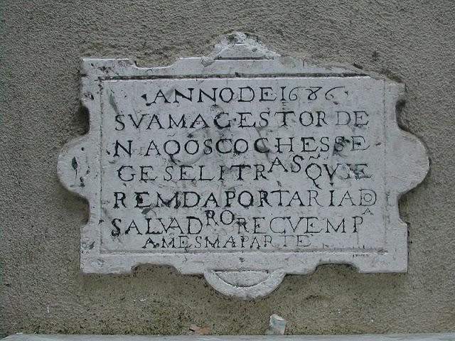 ►É do ano de 1686 o sinal de trânsito mais antigo de Lisboa