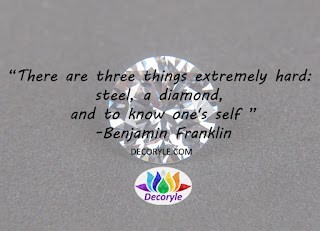 Benjamin Franklin Jewellery Quote