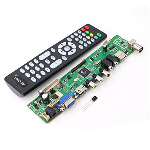 T VST59 031 UNIVERSAL LCD LED TV MOTHERBOARD ALL RESOLUTION FIRMWARE