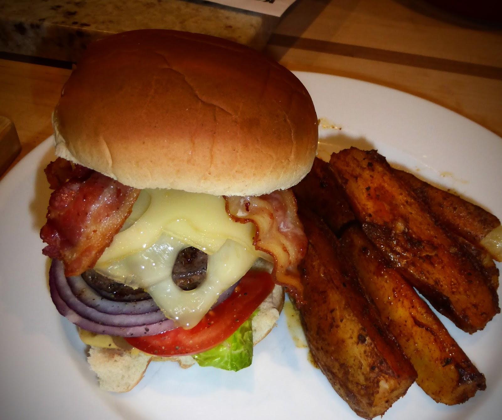 James Walsh Food And Movie Diary: Bacon Cheeseburgers ...