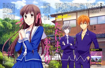 Novo anime de Fruits Basket estreia em Abril!