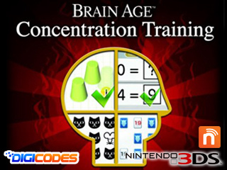 Brain Age Concentration Training 3DS CIA Region Free