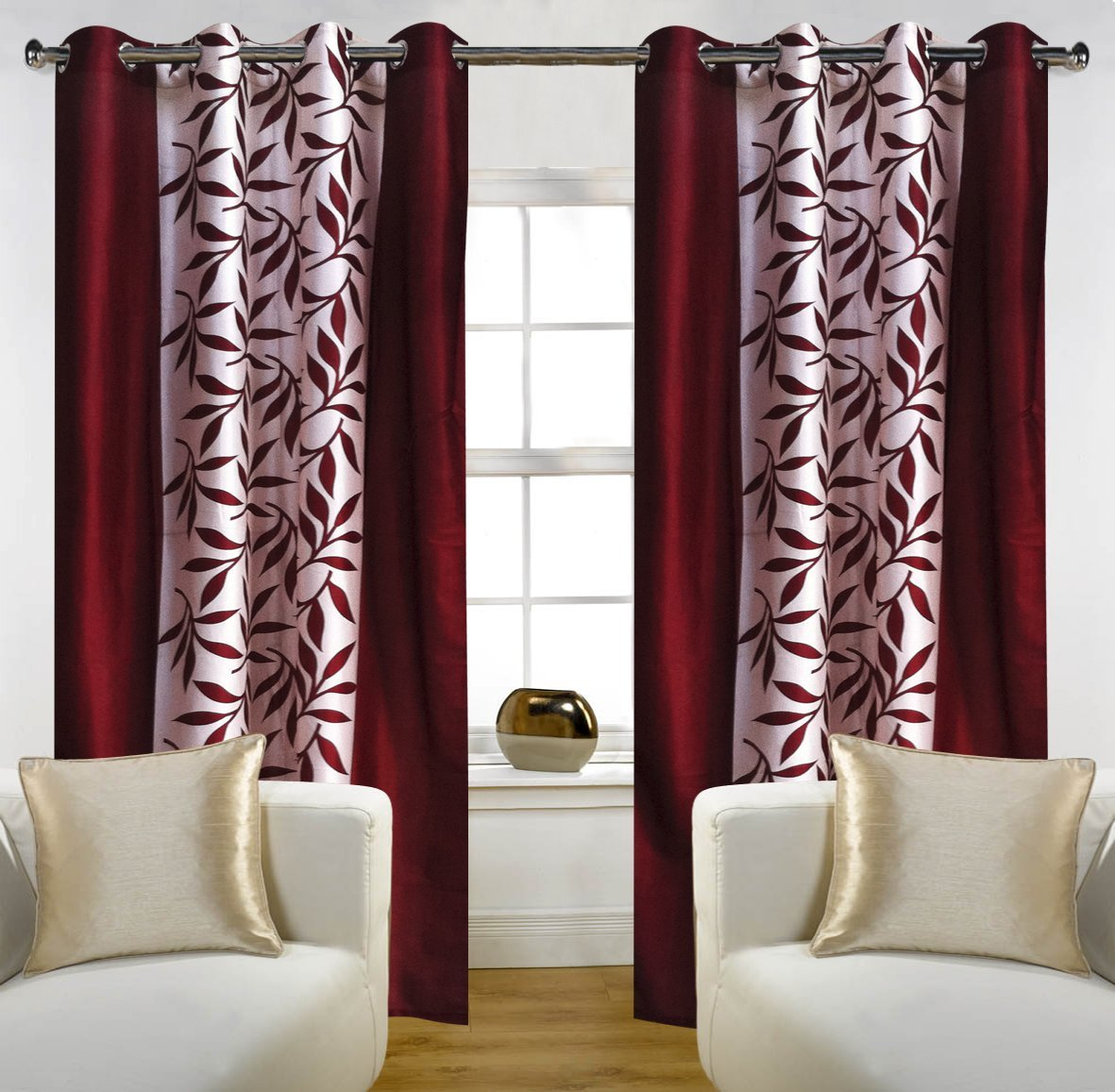 Entry Door Side Panel Curtains Sidelight Erod Curtain Rod Essential Home Shower