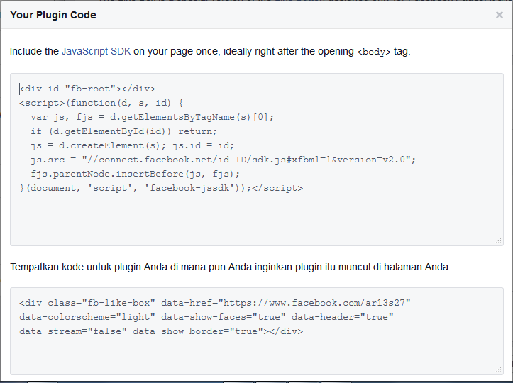 Bagaimana Cara Membuat Tombol Facebook Like Dengan Cara Mudah