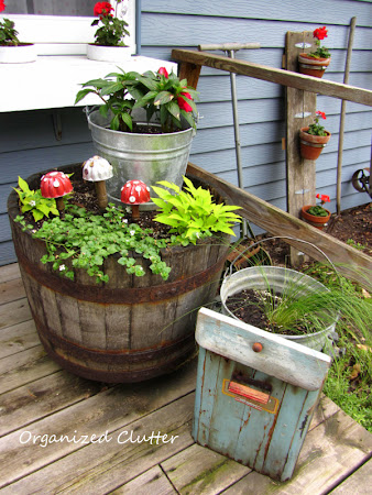 Cool Container Junk Gardens