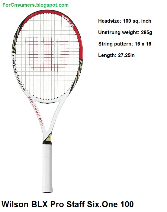 Wilson BLX Pro Staff Six.One 100 specs and video review