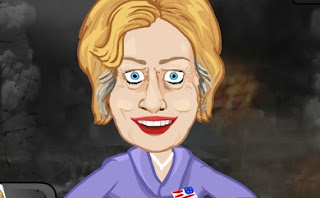 Punch Hillary Action Boxing Online Game