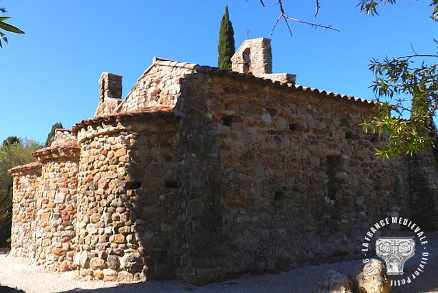 SIX-FOURS (83) - Chapelle Notre-Dame de Pépiole (IVe-XIIe siècles)