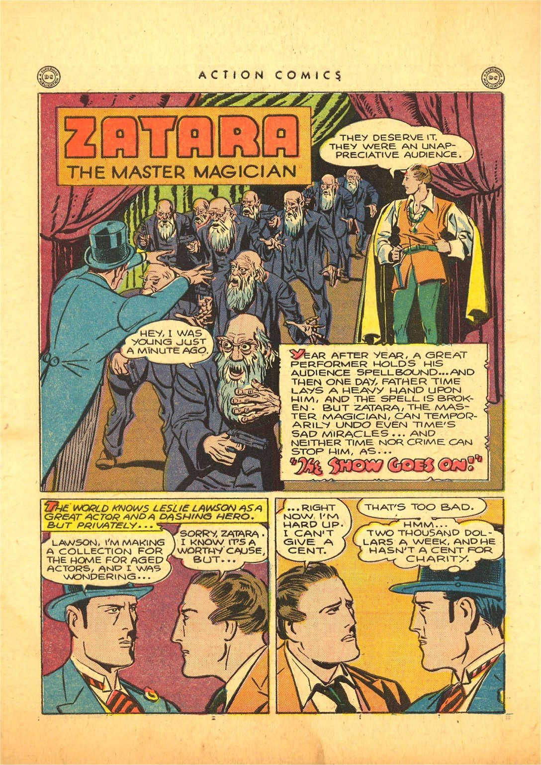 Read online Action Comics (1938) comic -  Issue #87 - 41