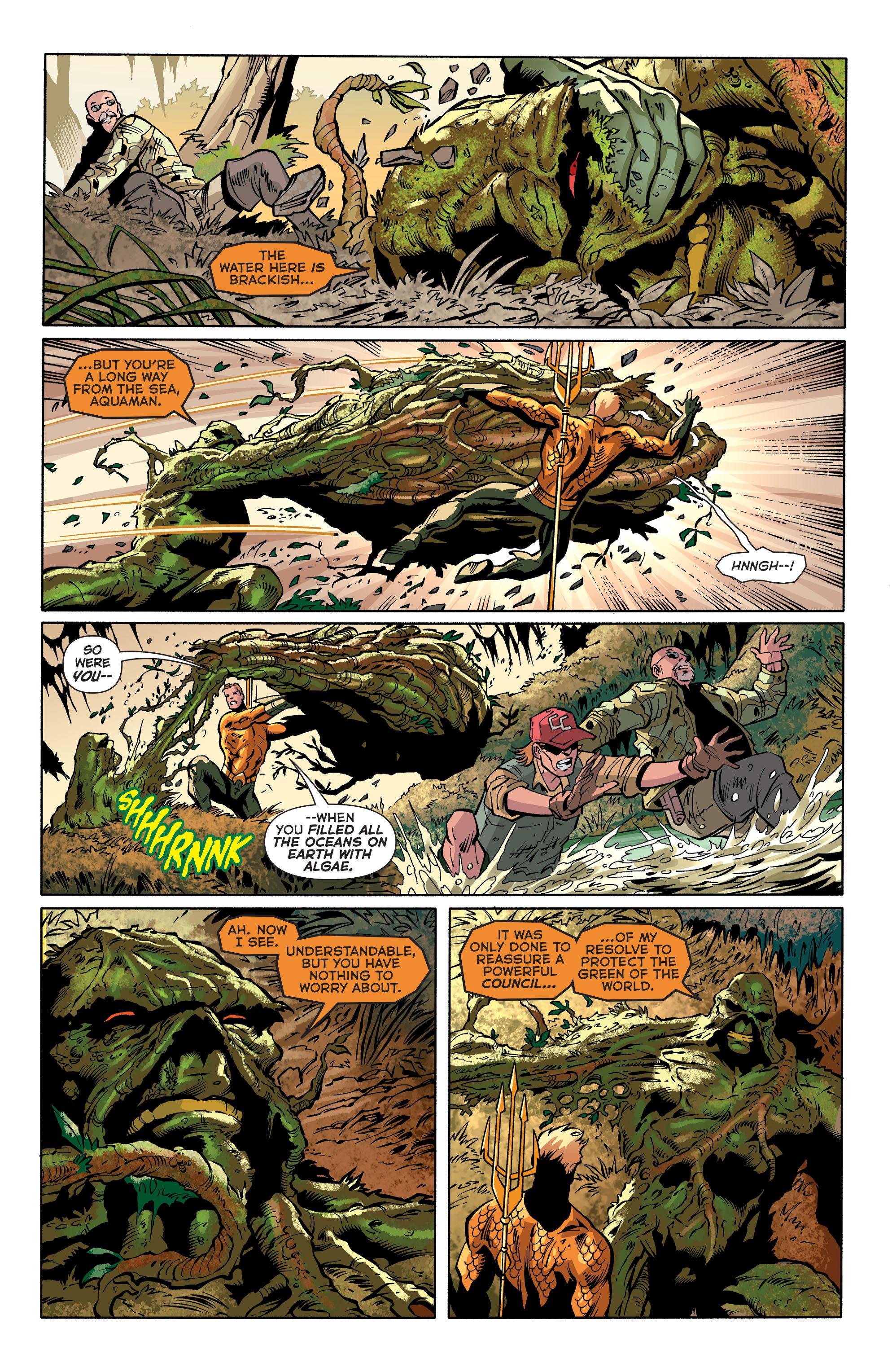 Read online Aquaman (2011) comic -  Issue #31 - 6