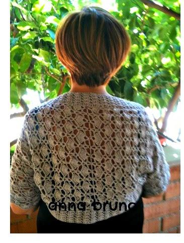 Con Le Mie Mani By Anna Bruno Tutorial Coprispalle Crochet