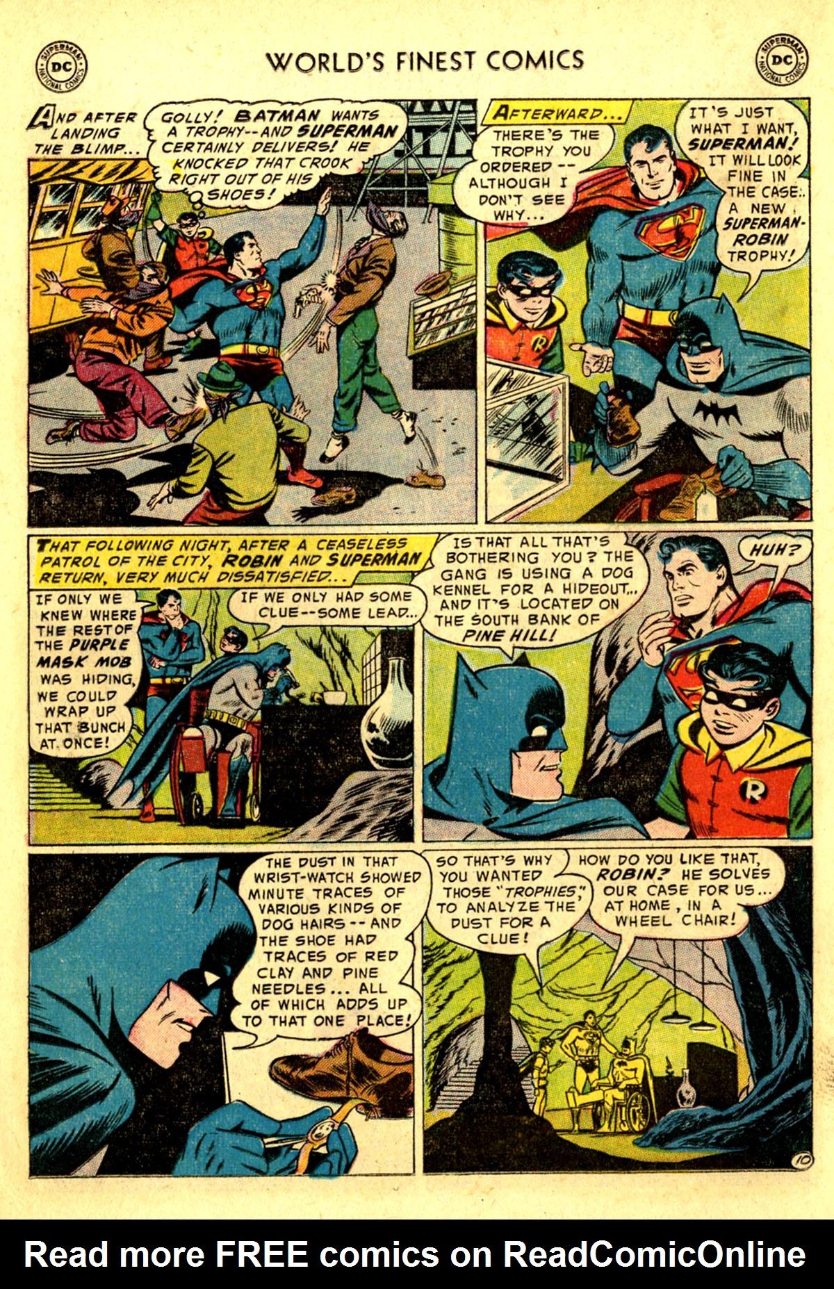 Read online World's Finest Comics comic -  Issue #75 - 12