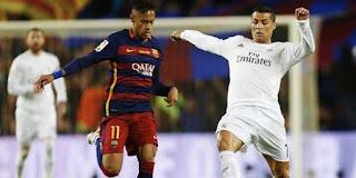 Barcelona Juara, Ronaldo WhatsApp Neymar