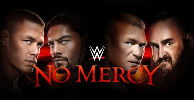 WWE NO MERCY LOGO 2017