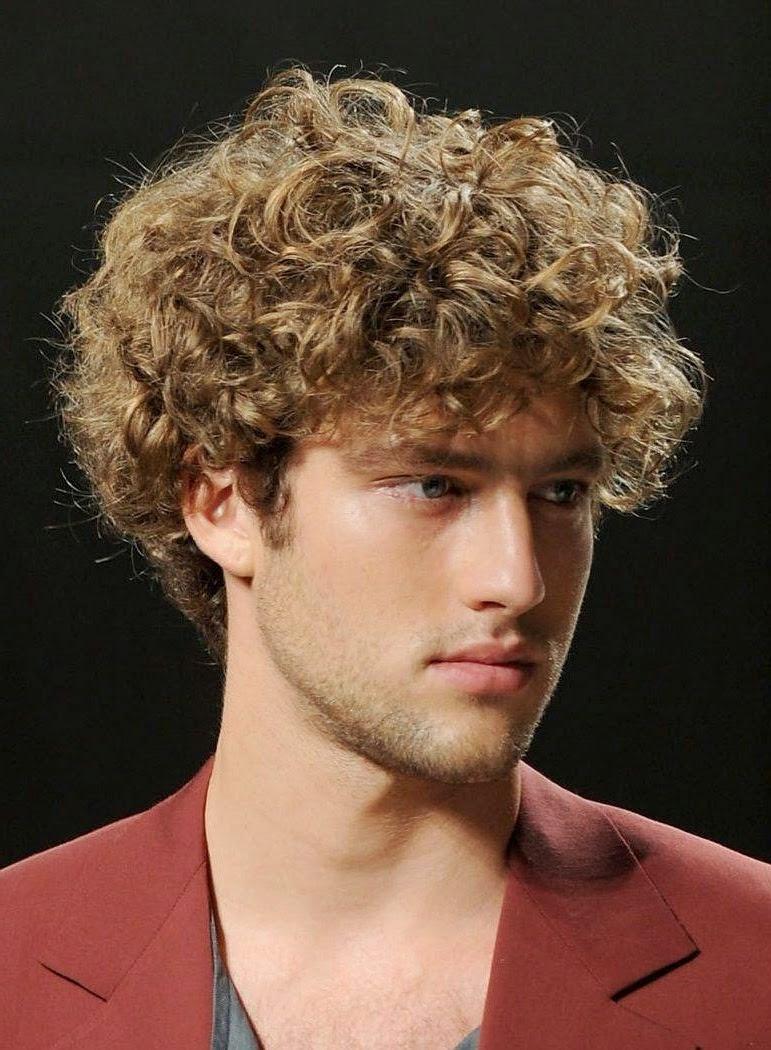 Surprising Hairstyles For Men With Curly Hair Men Hair Short Hairstyles Gunalazisus