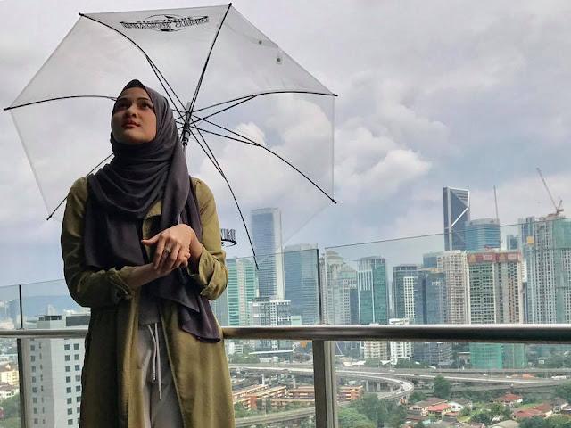 Tips Cara Pakai Shawl Ala Hanis Zalikha Fashion Terkini