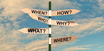 drogowskaz pokazujący różne kierunki - częste pytania pacjentów psychoterapii