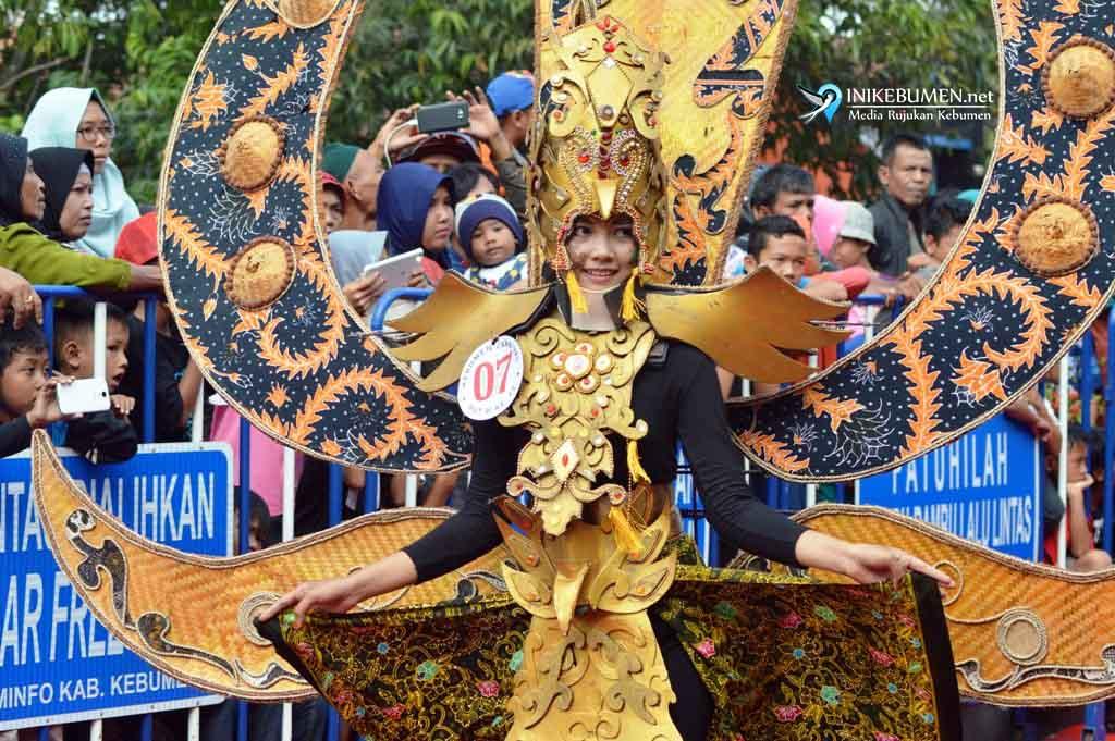 Eksotika Manuk Sriginting Berhasil jadi Juara Karnival Kebumen