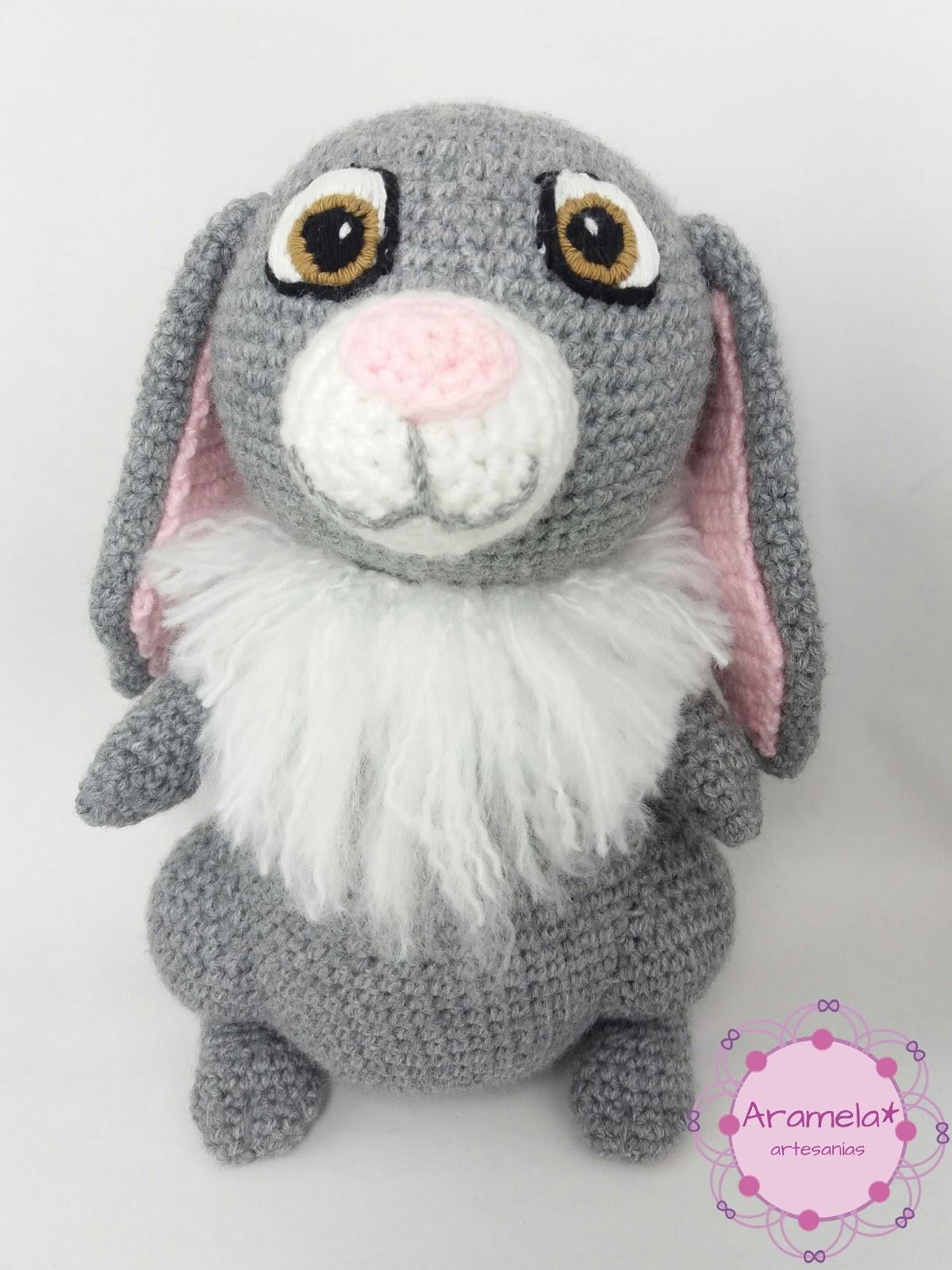 Aramela*Artesanías: Clover, el conejo de la Princesita Sofía (patrón ...