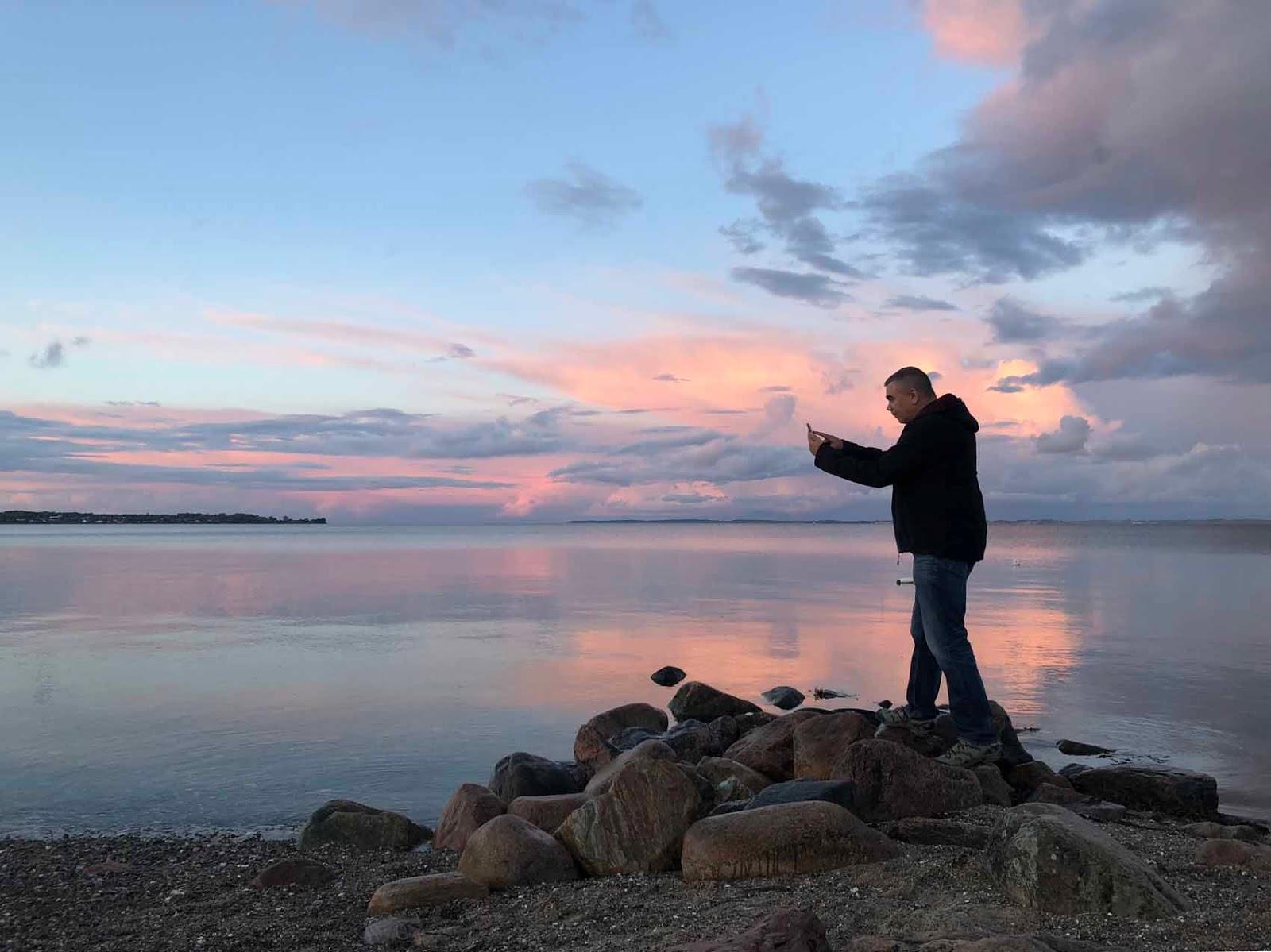 Thurø IlkkaPlaysPokemon Pokemon ranta meri auringonlasku