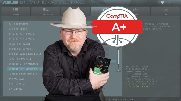 93% off CompTIA A+ Certification 902. The Total Course