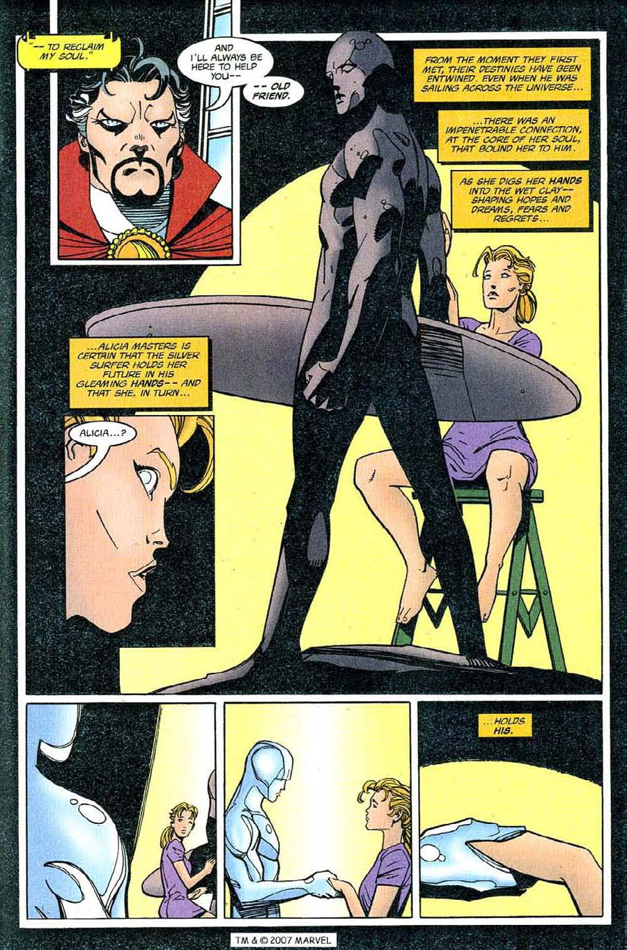 Read online Silver Surfer (1987) comic -  Issue #126 - 33